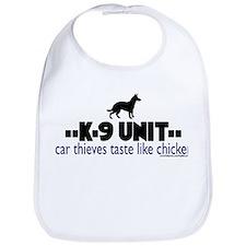 Car thieves taste like chicke Bib