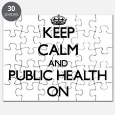Keep Calm and Public Health ON Puzzle