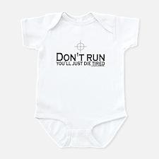 Sniper: Don't run, die tired Infant Bodysuit