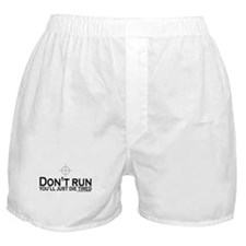 Sniper: Don't run, die tired Boxer Shorts