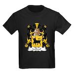LeBeuf Family Crest  Kids Dark T-Shirt