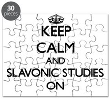 Keep Calm and Slavonic Studies ON Puzzle