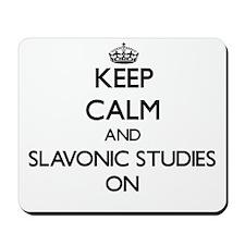 Keep Calm and Slavonic Studies ON Mousepad