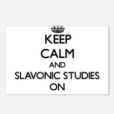 Keep Calm and Slavonic St Postcards (Package of 8)