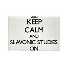 Keep Calm and Slavonic Studies ON Magnets