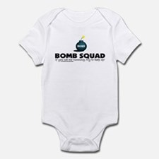 See me running, try to keep u Infant Bodysuit