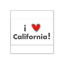 I LOVE CALIFORNIA Sticker