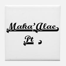 Maka'Alae Pt. Classic Retro Design Tile Coaster