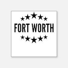 Fort Worth Sticker