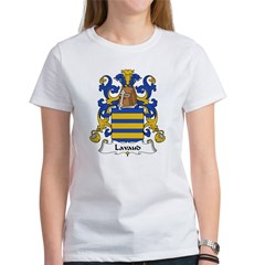 Lavaud Family Crest Women's T-Shirt