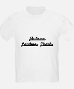 Makena Landing Beach Classic Retro Design T-Shirt