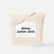 Makena Landing Beach Classic Retro Design Tote Bag