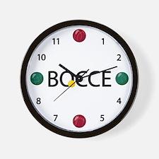 Bocce Ball Wall Clock