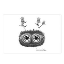 Hoots Toots Haggis. Latin Postcards (Package of 8)