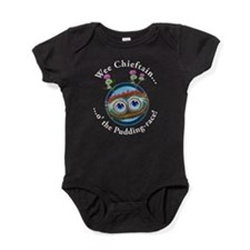 Hoots Toots Haggis. Wee Chieftain Baby Bodysuit