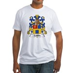 Lattre Family Crest Fitted T-Shirt