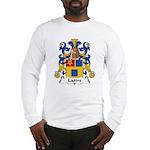 Lattre Family Crest Long Sleeve T-Shirt