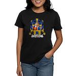 Lattre Family Crest Women's Dark T-Shirt