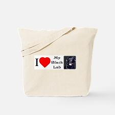 Unique Labrador bumper Tote Bag