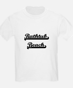 Bathtub Beach Classic Retro Design T-Shirt