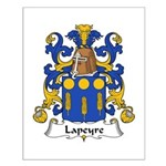 Lapeyre Family Crest Small Poster