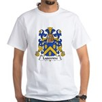 Laperriere Family Crest White T-Shirt
