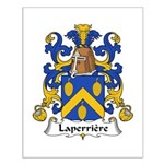 Laperriere Family Crest  Small Poster