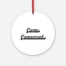 Cape Canaveral Classic Retro Desi Ornament (Round)