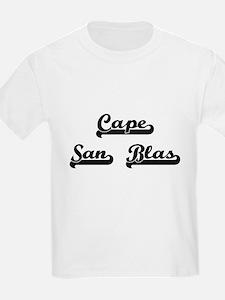 Cape San Blas Classic Retro Design T-Shirt
