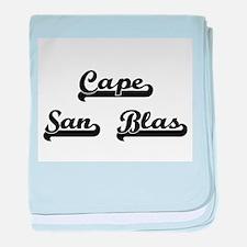 Cape San Blas Classic Retro Design baby blanket