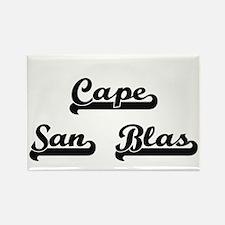 Cape San Blas Classic Retro Design Magnets
