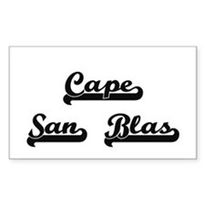 Cape San Blas Classic Retro Design Decal