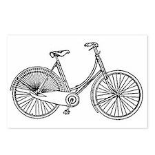 Vintage American Bicycle Postcards (Package of 8)