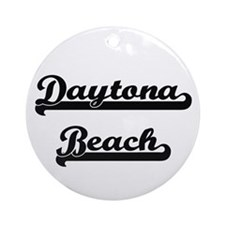 Daytona Beach Classic Retro Desig Ornament (Round)