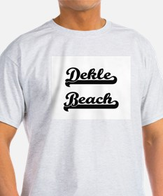 Dekle Beach Classic Retro Design T-Shirt