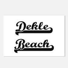 Dekle Beach Classic Retro Postcards (Package of 8)