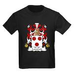 Langlais Family Crest Kids Dark T-Shirt