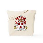 Langlais Family Crest Tote Bag