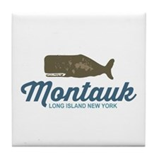 Montauk - Long Island. Tile Coaster