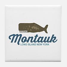 Montauk - Long Island. Tile Coaster