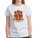 Langevin Family Crest Women's T-Shirt