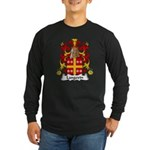 Langevin Family Crest Long Sleeve Dark T-Shirt