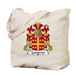Langevin Family Crest Tote Bag