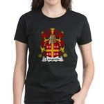 Langevin Family Crest Women's Dark T-Shirt