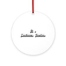 Ft. Zachary Taylor Classic Retro Ornament (Round)