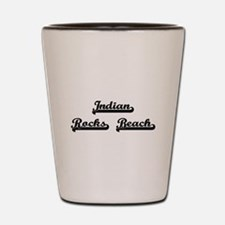 Indian Rocks Beach Classic Retro Design Shot Glass