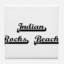 Indian Rocks Beach Classic Retro Desi Tile Coaster