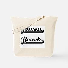 Jensen Beach Classic Retro Design Tote Bag