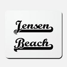 Jensen Beach Classic Retro Design Mousepad
