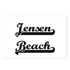 Jensen Beach Classic Retr Postcards (Package of 8)